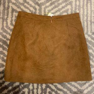BCBGeneration Skirts - BCBGeneration Suede Skirt